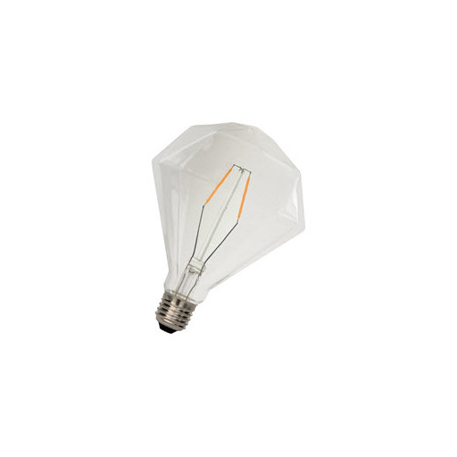 Afbeelding van Bailey Led filament diamond e27 240v 2w 2200k dimm LED-lamp