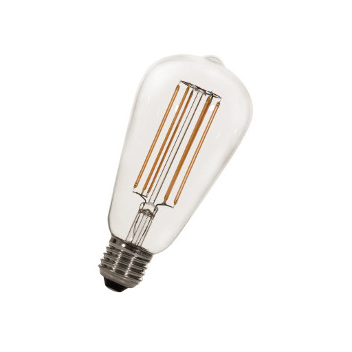 Afbeelding van Bailey Led long filament st64 e27 240v 5.8w 2200k dimm LED-lamp