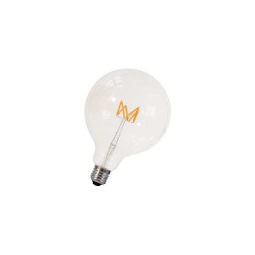 Afbeelding van Bailey Led filament wave g125 e27 240v 3w 2200k dimm LED-lamp
