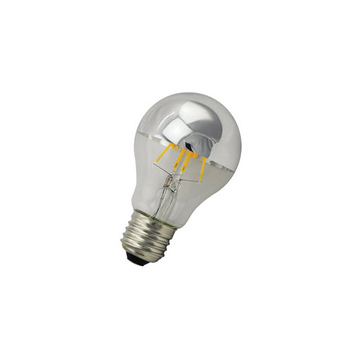 Afbeelding van Bailey Led filament a60 e27 240v 6w 2700k tm silver dimm LED-lamp