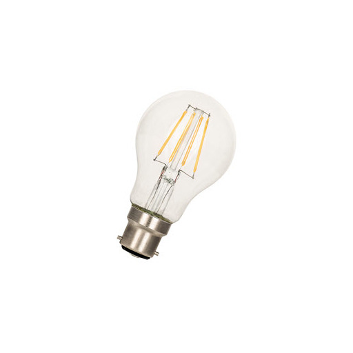 Afbeelding van Bailey Led filament a60 b22d 24v/dc 3w 2700k clear LED-lamp
