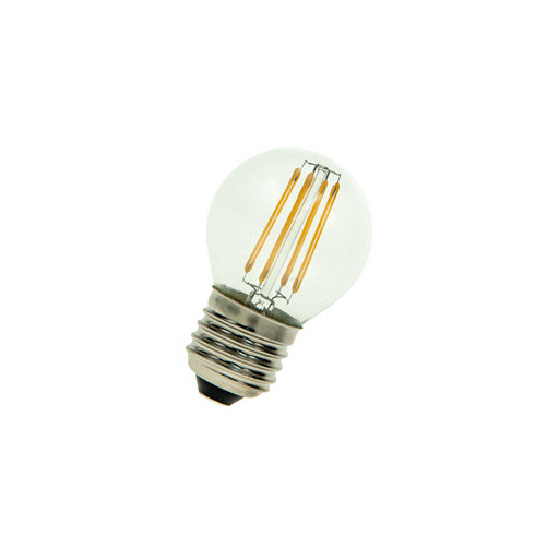 Afbeelding van Bailey Led filament g45 e27 24v/dc 3w 2700k clear LED-lamp