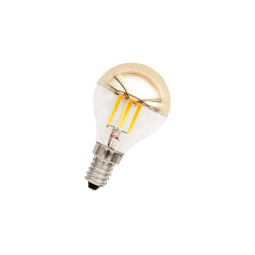 Afbeelding van Bailey Led filament g45 e14 240v 3w 2700k tm gold dimm LED-lamp
