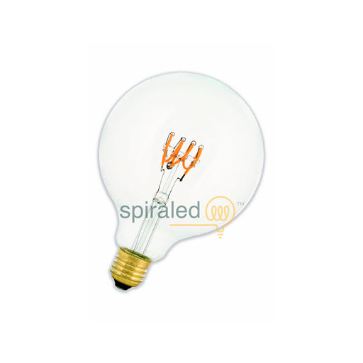Afbeelding van Bailey SpiraLED leslie g125 e27 4w 2200k clear dimm LED-lamp