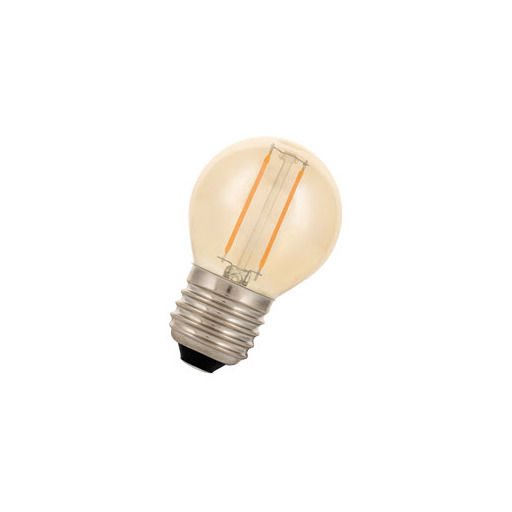 Afbeelding van Bailey Led filament g45 e27 240v 2w 2200k gold LED-lamp
