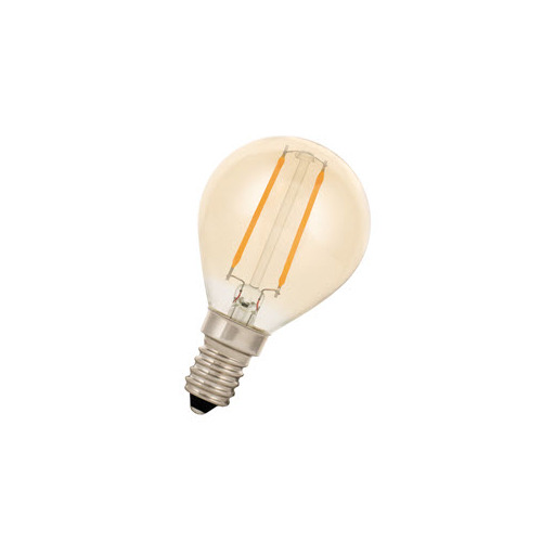 Afbeelding van Bailey Led filament g45 e14 240v 2w 2200k gold LED-lamp