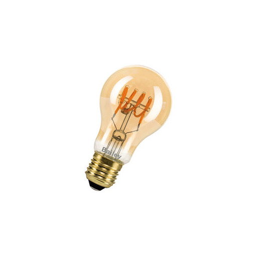 Afbeelding van Bailey SpiraLED thomas a60 e27 4w 2200k gold dimm LED-lamp