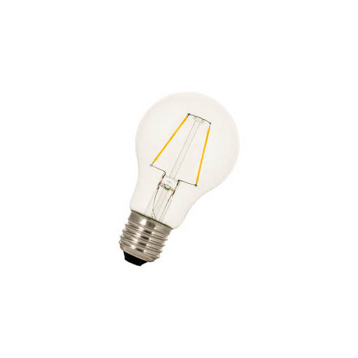 Afbeelding van Bailey Led filament a60 e27 240v 2w 2700k clear LED-lamp
