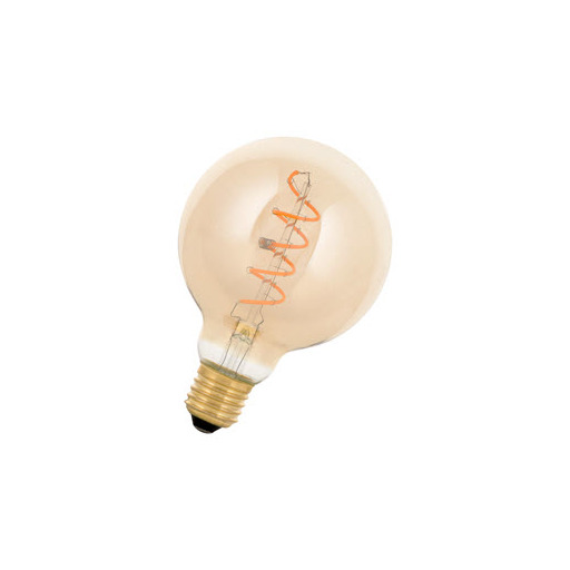 Afbeelding van Bailey SpiraLED william g95 e27 4w 2200k gold dimm LED-lamp