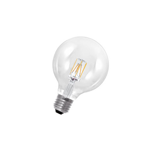 Afbeelding van Bailey Led filament g125 e27 240v 8w 3000-2200k dim-to-warm LED-lamp