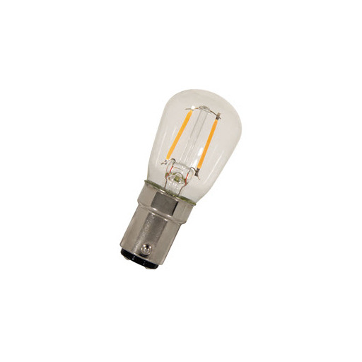 Afbeelding van Bailey Led filament p26x58 ba15d 240v 1w 2700k clear LED-lamp